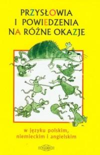 okładka podręcznika - Przysłowia i powiedzenia na różne