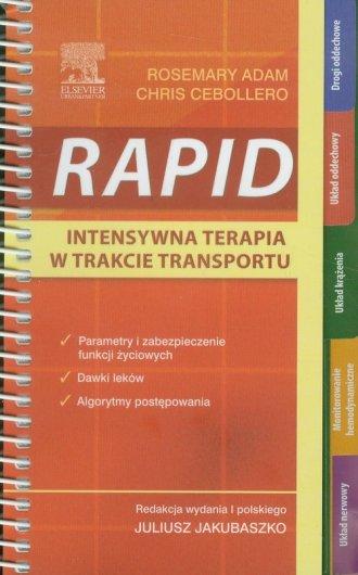 RAPID. Intensywna terapia w trakcie - okładka książki