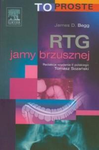 RTG jamy brzusznej - okładka książki