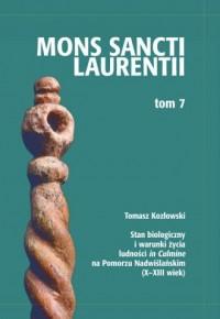 Stan biologiczny i warunki życia ludności in Culmine na Pomorzu Nadwiślańskim (X-XIII w) - okładka książki