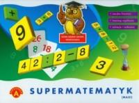 Supermatematyk maxi. Gra edukacyjna - zdjęcie zabawki, gry