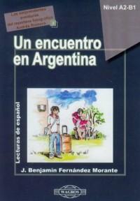 Un encuentro en Argentina (+ CD) - okładka książki