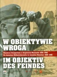 W obiektywie wroga (wersja pol./niem.) - okładka książki