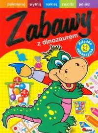 Zabawy z dinozaurem - okładka książki