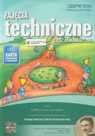 Zajęcia techniczne. Szkola podstawowa. - okładka podręcznika