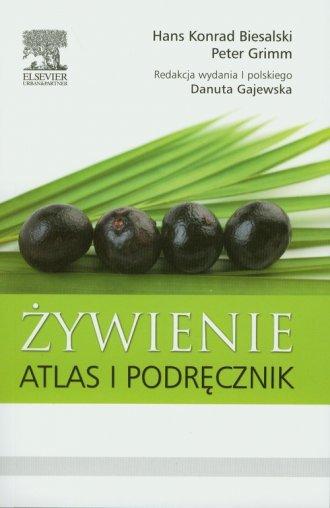 Żywienie. Atlas i podręcznik - okładka książki