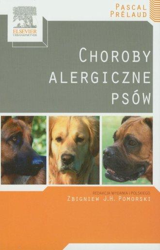 Choroby alergiczne psów - okładka książki