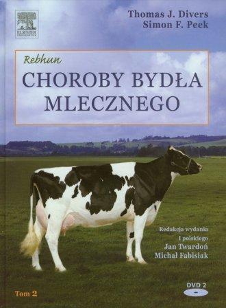 Choroby bydła mlecznego. Tom 2 - okładka książki
