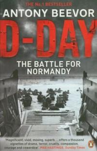 D-Day - okładka książki