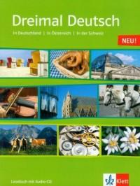 Dreimal Deutsch Lesebuch NEU (+ - okładka podręcznika