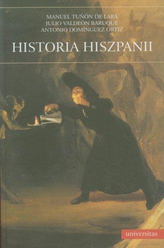 Historia Hiszpanii - okładka książki