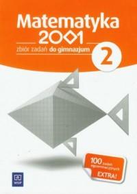 Matematyka 2001. Klasa 2. Gimnazjum. Zbiór zadań - okładka podręcznika