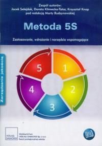 Metoda 5S. Zastosowanie, wdrażanie i narzędzia wspomagające - okładka książki