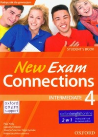New Exam Connections 4. Intermediate Student s book - okładka podręcznika