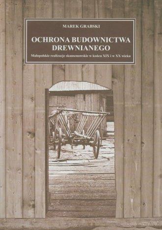 Ochrona budownictwa drewnianego. - okładka książki