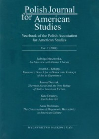 Polish Journal for American Studies. Vol. 2 (2008) - okładka książki