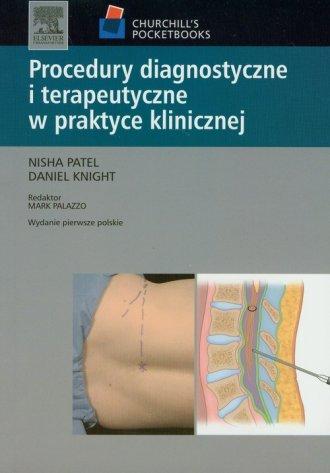 Procedury diagnostyczne i terapeutyczne - okładka książki
