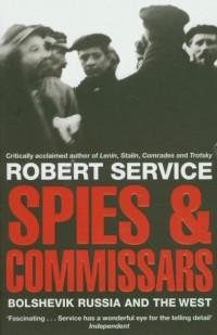 Spies and Commissars - okładka książki