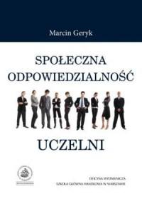 Społeczna odpowiedzialność uczelni - okładka książki