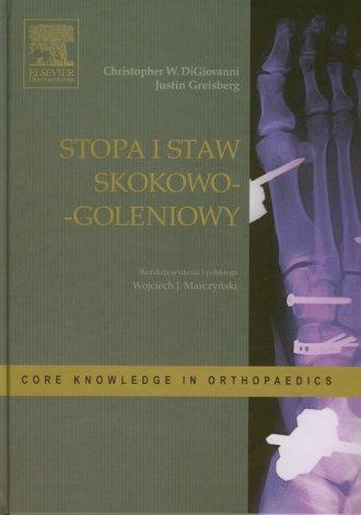 Stopa i staw skokowo-goleniowy - okładka książki