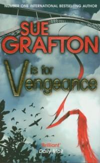 V is for Vengeance - okładka książki