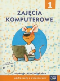 Zajęcia komputerowe 1. Szkoła podstawowa. - okładka podręcznika