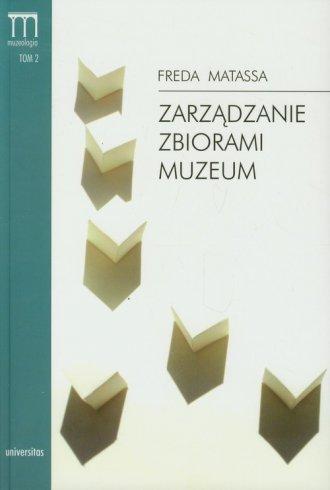 Zarządzanie zbiorami muzeum. Podręcznik - okładka książki