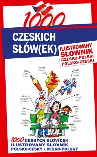 1000 czeskich słówek. Ilustrowany - okładka podręcznika