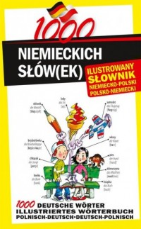 1000 niemieckich słówek. Ilustrowany - okładka podręcznika