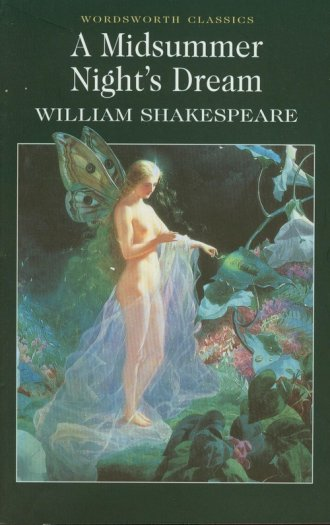 A Midsummer Nights Dream - okładka książki