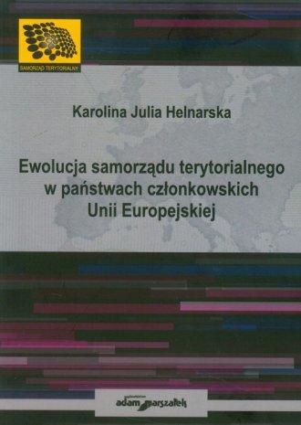Ewolucja samorządu terytorialnego - okładka książki