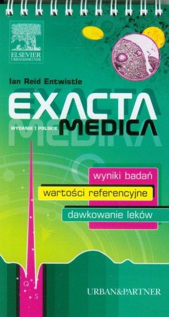Exacta Medica - okładka książki
