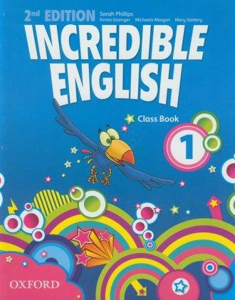 Incredible English 1. Class Book - okładka podręcznika