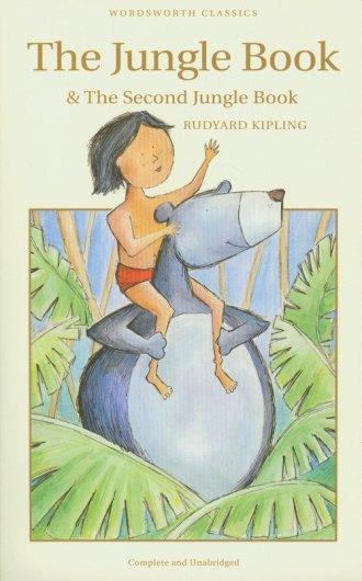 Jungle Book and Second Jungle Book - okładka książki