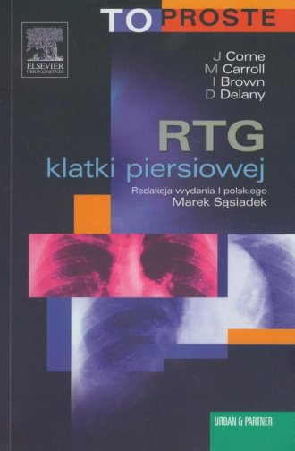 RTG klatki piersiowej - okładka książki