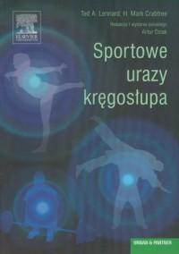 Sportowe urazy kręgosłupa - okładka książki
