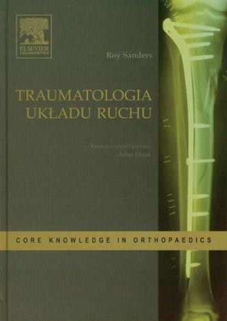 Traumatologia układu ruchu - okładka książki