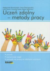 Uczeń zdolny - metody pracy - okładka książki