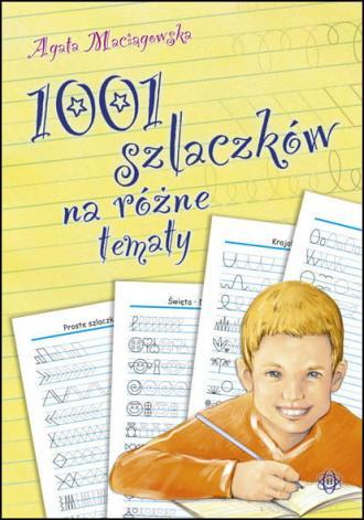 1001 szlaczków na różne tematy - okładka podręcznika
