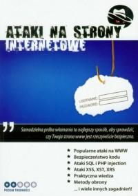 Ataki na strony internetowe (+ CD) - okładka książki
