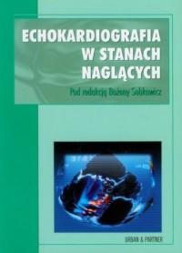 Echokardiografia w stanach naglących - okładka książki