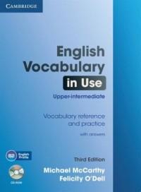 English Vocabulary in Use Upper-intermediate (+ CD) - okładka podręcznika