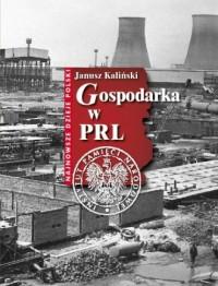 Gospodarka w PRL - okładka książki