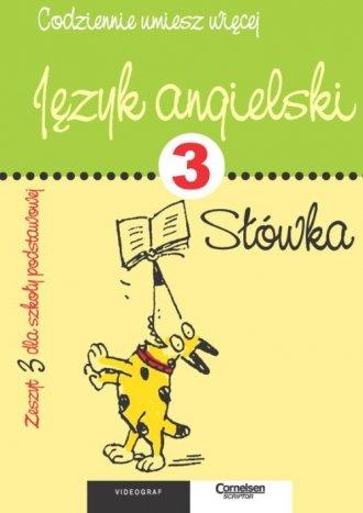 Język angielski. Zeszyt 3. Słówka - okładka podręcznika