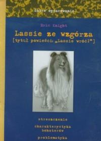 Lassie ze wzgórza (tytuł powieści - okładka podręcznika