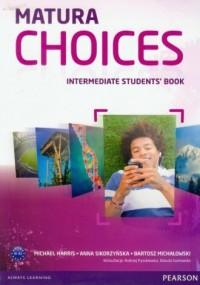 Matura Choices. Intermadiate Students Book. Zakres podstawowy i rozszerzony - okładka podręcznika