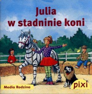Pixi. Julia w stadninie koni - okładka książki