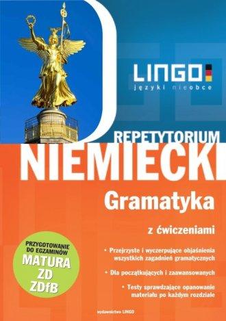 Repetytorium. Niemiecki. Gramatyka - okładka podręcznika