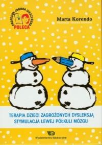 Terapia dzieci zagrożonych dysleksją. - okładka książki