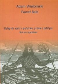 Wstęp do nauki o państwie, prawie i polityce - okładka książki